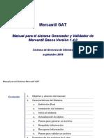 V1 Manual Del Sistema Generador y Validador Mercantil