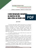 12_IgorFuser a desintegração energética no mercosul