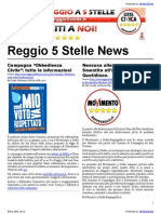 Reggio 5 Stelle News