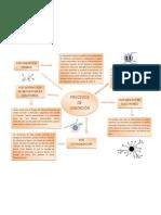 Mapa Conceptual Procesos de Ionizacion