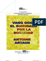 Artaud, Antonin - Vang Gogh, El Suicidado Por La Sociedad