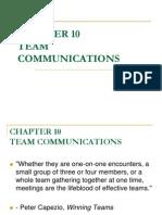 10 - Team Communication