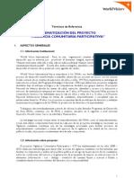 World Vision TDR Sistematización VCP