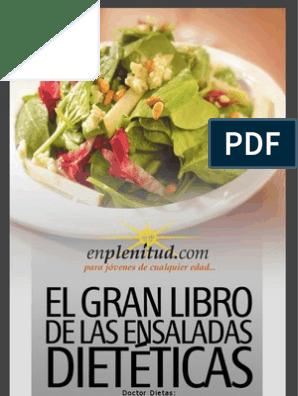 Recetas de ensaladas sencillas pdf
