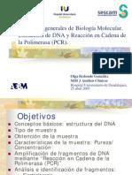 Extraccin de Dna y Pcr