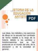 Historia de La Educacion Artistica