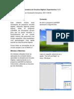 Relatório do Laboratório de Circuitos Digitais