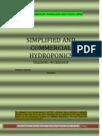 Hydroponics Training
