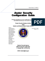 Nsa Cisco Router Security Guide