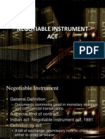 4.Negotiable Instrument Act