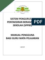 Manual Pengguna SPPBS