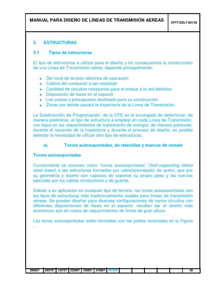 Estructuras lineas de transmision pdf for Manual de diseno y construccion de albercas pdf