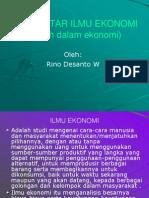Bab 3 Istilah Dlm Ekonomi I