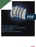 01-04-2010 Mdrc Range e210 System Pro m Compact English