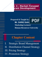 Chapter 4-Market-Focused Program Development