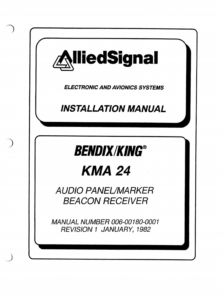 kma 24 install rh es scribd com KMA 24 Schematic King Audio Panel