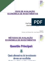 Metodos de Avaliação Econômica 2010