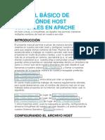 MANUAL BÁSICO DE CREACIÓNDE HOST VIRTUALES EN APACHE