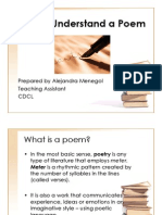 How to Understand a Poem
