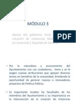 Municipio Promotor de La Juventud y Equidad De3