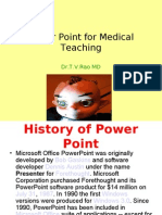 Power Point for Medical Professionals