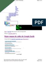 Geofumadas.com Bajar Mapas de Calles de Google Earth