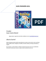 Guía Pokémon Azul