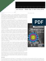 Social Branding Strategic Outlook 2012-2015 Middle East & North Africa, 2012