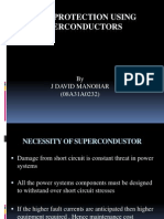 Surge Protection Using Superconductors
