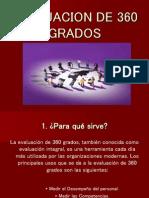 EVALUACION DE 360 GRADOS.