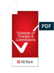 ABBANK Schedule of Charges January 2011