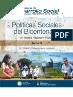 Políticas Sociales del Bicentenario - Tomo II