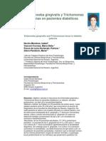 Entamoeba gingivalis y Trichomonas tenax en pacientes diabéticos