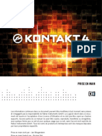 Kontakt 4 Getting Started French