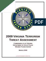 Virgina Threat Assessment 2009