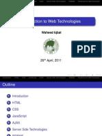 Intro Web Technologies