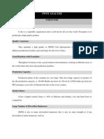 SWOT Analysis Peps 2i