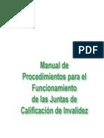 Manual de Procedimiento Juntas de Invalidez