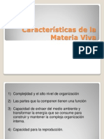 06-Caracteristicas de La Materia Viva