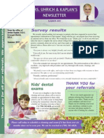 College Drive Dental Summer 2011 Newsletter