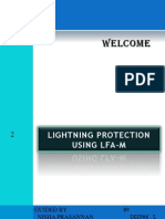 Lightning Protection Using LFA-M Presentation