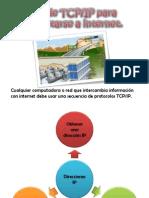 Uso de TCPIP Para Conectarse a Internet