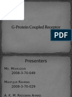 GPCRs (G-Protein Coupled receptor)