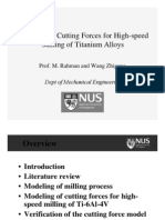 Cutting Force Model