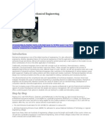 Career in Mechanical Engineering