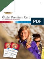 Ötztal Premium Card 2012