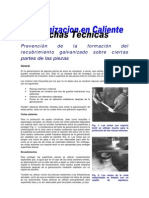PREVENCION GALVANIZADO ROSCAS