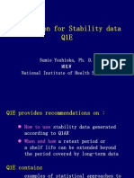 Q1E_Evaluation for Stability Data