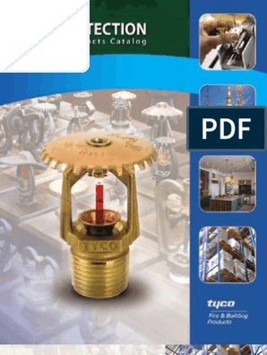 TYCO Sprinkler Type and Details | Fire Sprinkler System