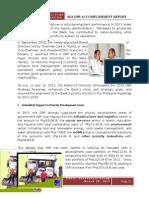 DBP Accomplishment Report